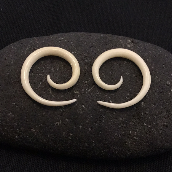 Sale and Clearance | Spiral. Bone 8g, Organic Body Jewelry.