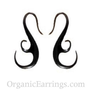 Organic Body Jewelry | French Hook Wing. Horn 10g, Organic Body Jewelry.