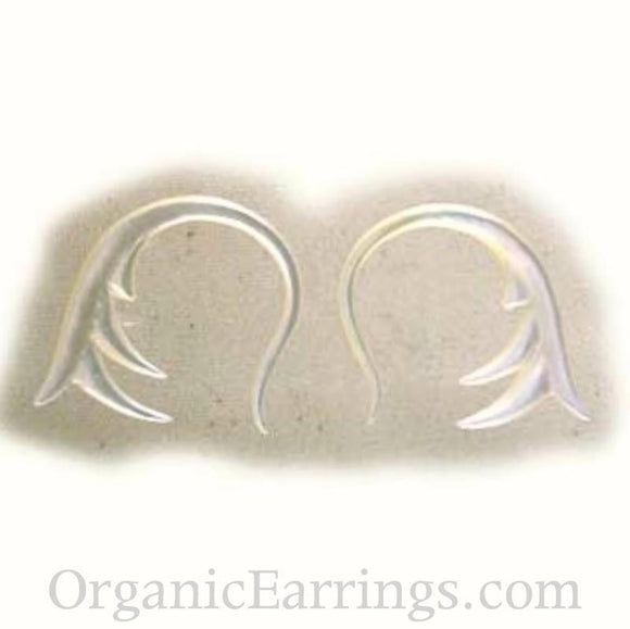 Organic Body Jewelry | Spring. mother of pearl 12g Organic Body Jewelry.