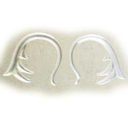 Organic Body Jewelry | Spring. mother of pearl 6g Organic Body Jewelry.