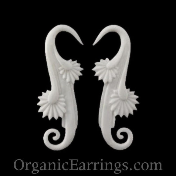 Bone Jewelry | Willow Blossom. Bone 8g Organic Body Jewelry.