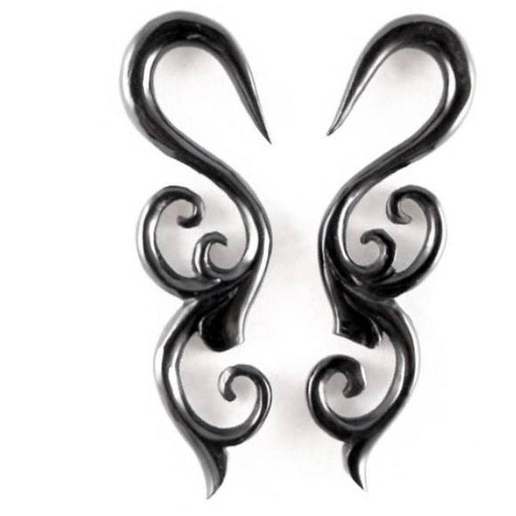Organic Body Jewelry | Trilogy Sprout. Horn 4g Organic Body Jewelry.