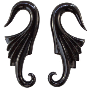 Organic Body Jewelry | Nouveau Wings. Horn 2g, Organic Body Jewelry.