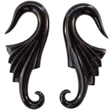 Nouveau Wings. Horn 2g, Organic Body Jewelry.