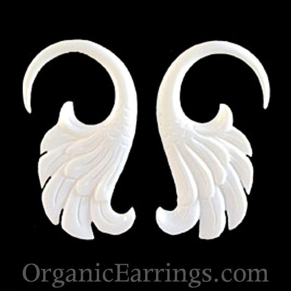 Bone Jewelry | Wings. Bone 8g Organic Body Jewelry.