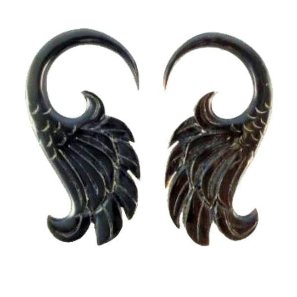 Body Jewelry | Wings. Horn 6g Organic Body Jewelry.