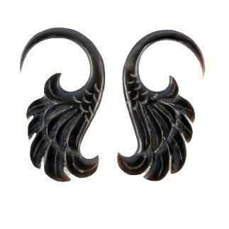 Body Jewelry | Wings. Horn 8g Organic Body Jewelry.