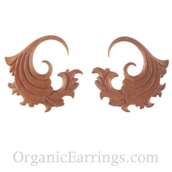 12 Gauges | Fire. Sabo Wood 12g Organic Body Jewelry.