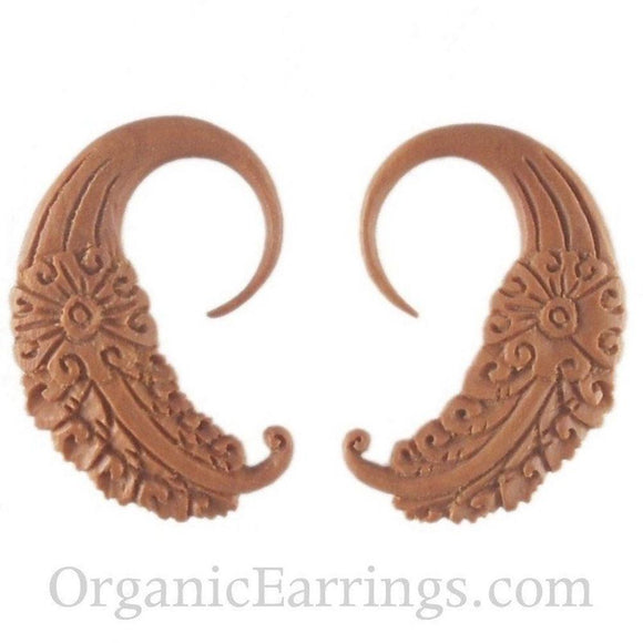 Organic Body Jewelry | Cloud Dream. Sabo Wood 10g Organic Body Jewelry.