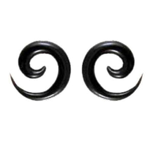 Spiral Jewelry | Water Buffalo Horn Spirals, 2 gauge,  $32