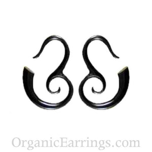 Organic Body Jewelry | Mandalay Spirals. Horn 8g, Organic Body Jewelry.