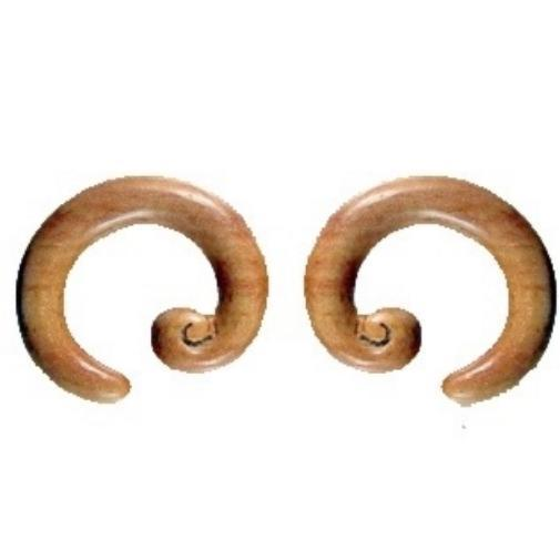 Body Jewelry | Sabo Wood, size 0 gauges