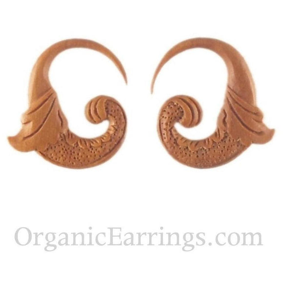 Wood Jewelry | Nectar Bird. Sabo Wood 10g, Organic Body Jewelry.