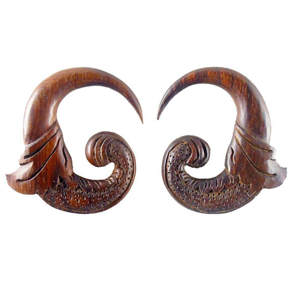 Wood Jewelry | Nectar Bird. Sono Wood 0g, Organic Body Jewelry.