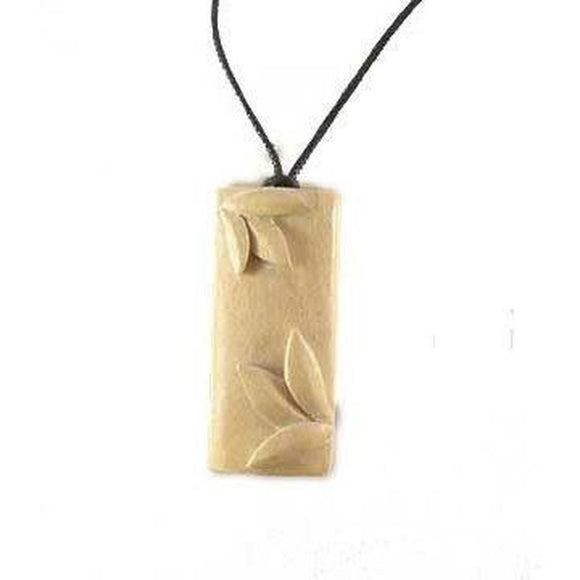 $10 to $20 Wood Necklaces | Bamboo. Wood Necklace. Ivory Wood Jewelry.