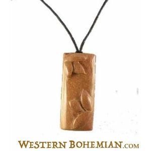Wooden Jewelry | Sabo Wood Earrings pendant,