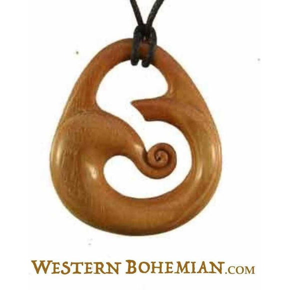 $10 to $20 Wood Necklaces | Wind. Wood Necklace. Sabo Wood Jewelry.