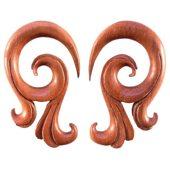 Wood Body Jewelry | Celestial Talon, Sabo Wood. 0g Organic jewelry.