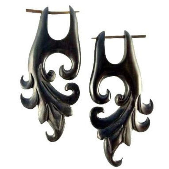 For her : Gauges | Dragon Vine. Areng Wood. Wooden Earrings & Natural Jewelry.
