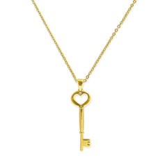 ADORE Key Pendant Necklace