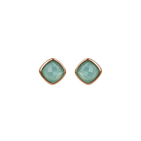 Cushion Stone Earring