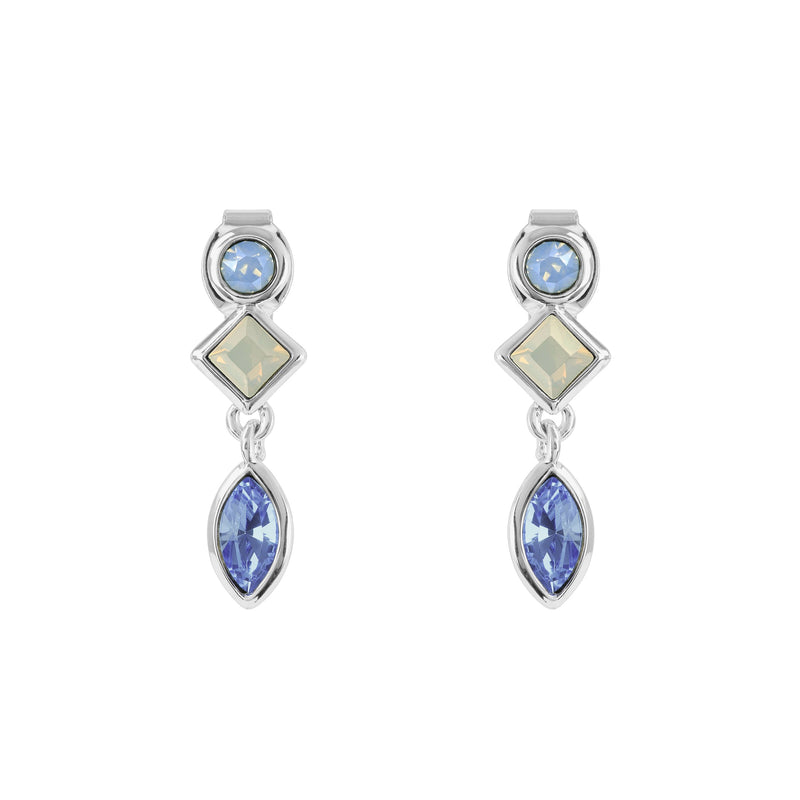 Adore Brilliance Crystal Charm Earrings Detail
