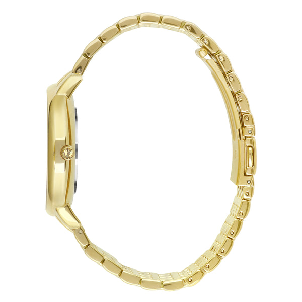 Luxe 33mm Gold Bracelet Detail Side View