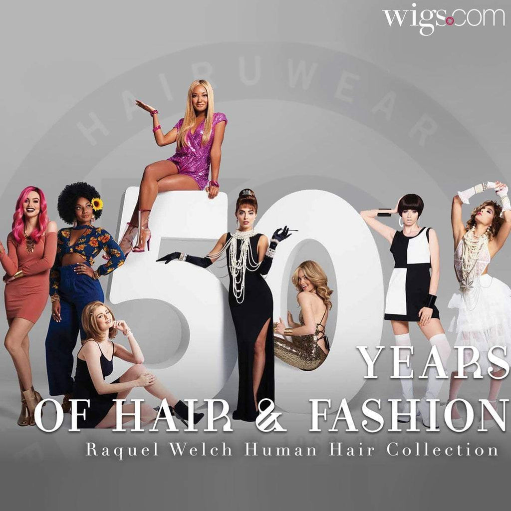 HairUWear Celebrates 50 Years of Fashion and Hair
