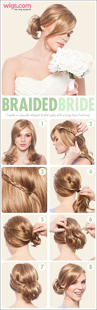 How to create a braided bride look