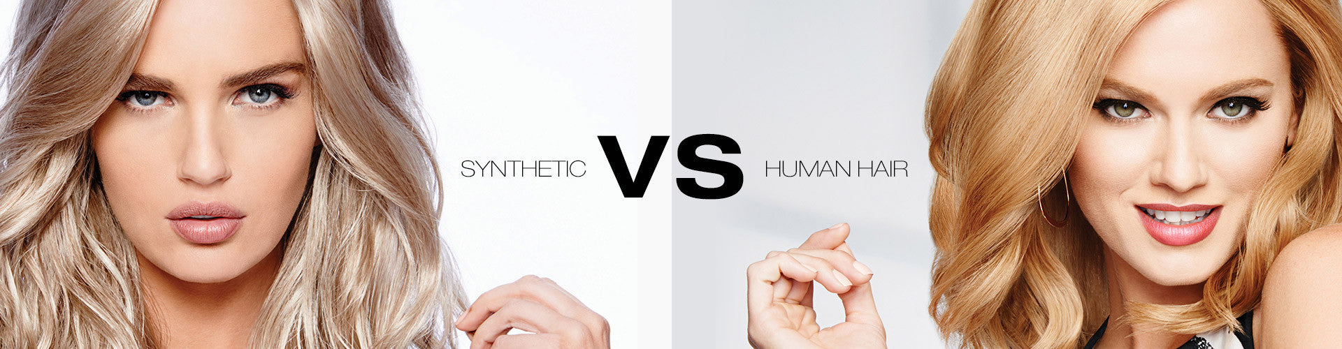 Human Hair & Synthetic Hair Wigs - What's the difference?