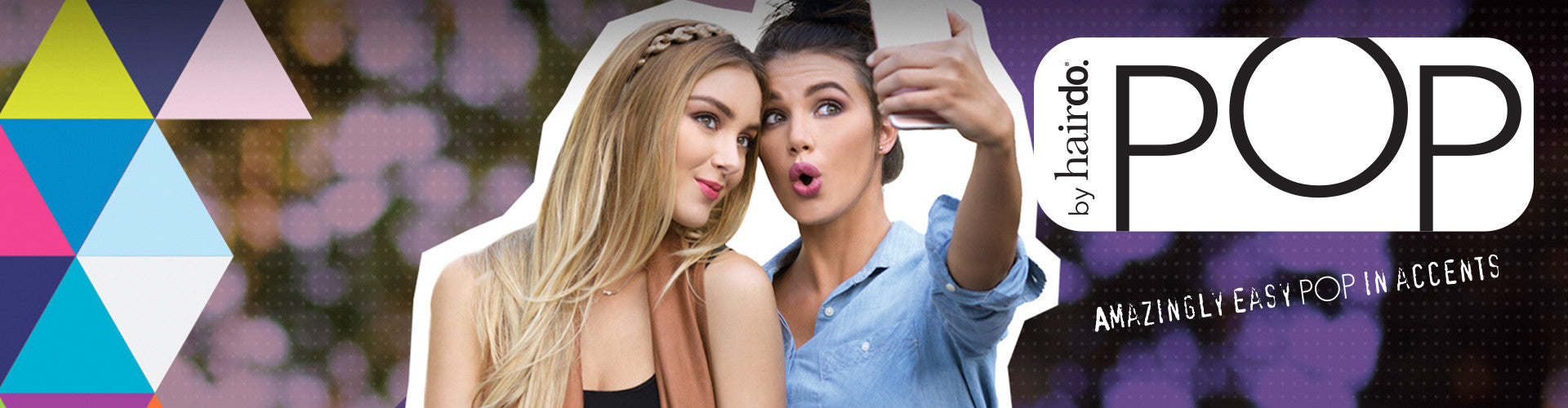 POP by hairdo | Fun Hairpieces & Clip-In Extensions