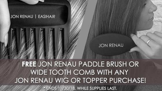 FREE Gift with ANY Jon Renau Wig or Topper Purchase!