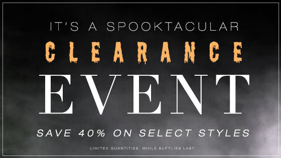 Clearance Event | Save 40% on Select Styles