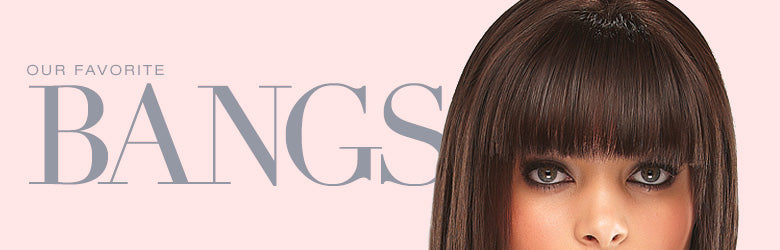 Our Favorite Clip-In Bangs/ Fringes