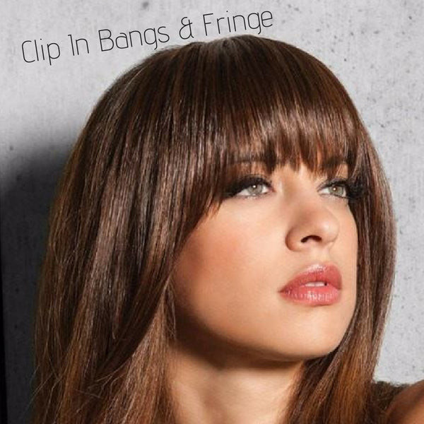 Shop Clip In Bangs and Fringes