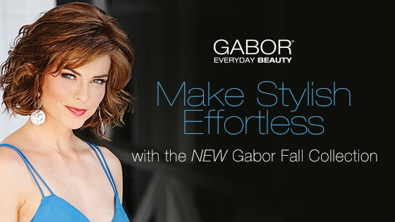 3 NEW Gabor Wigs & 1 Hair Topper for Fall 2017