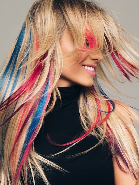 Bright Colored Extensions