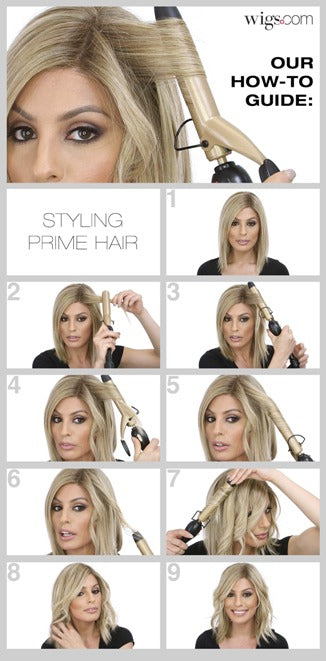How to Style Prime Hair by Ellen Wille