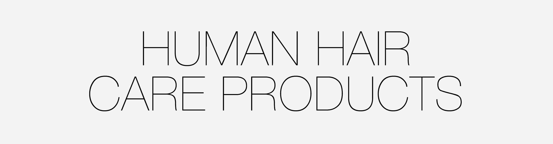 Human Hair Care Products for Wigs, Hairpieces & Extensions