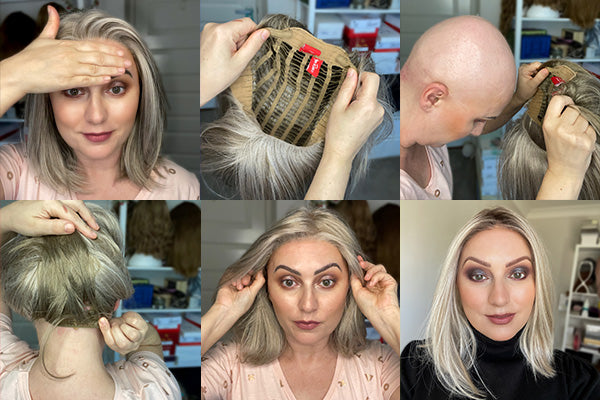 Putting on a Lace Front Wig