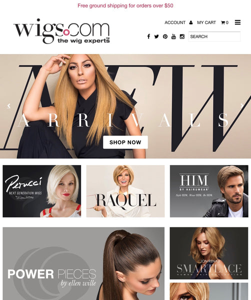 Welcome to the new wigs.com