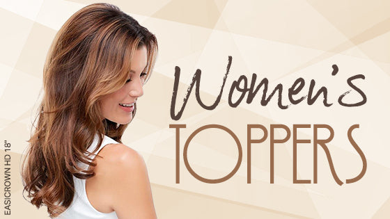 Womens Hair Toppers