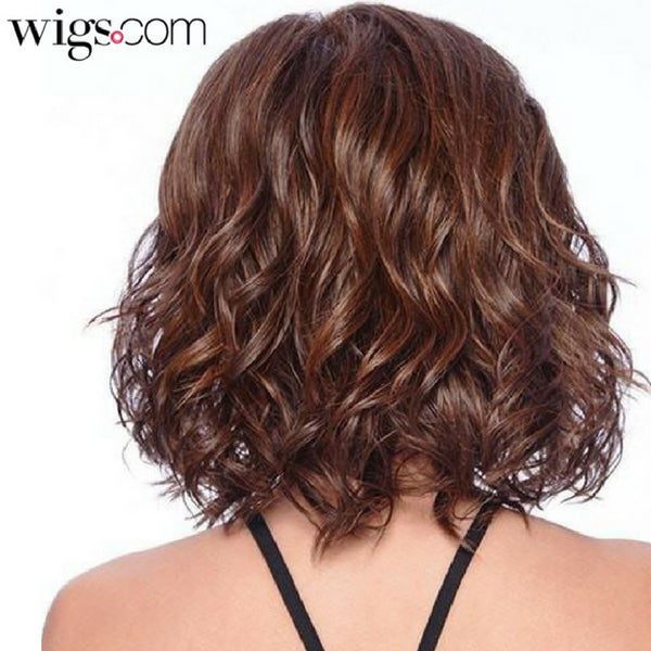 Curling Synthetic Hair Wigs