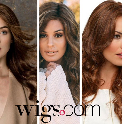 Brown Wavy Wigs