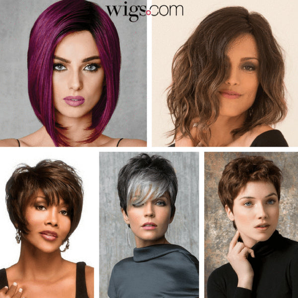 Short and Sassy Wigs!