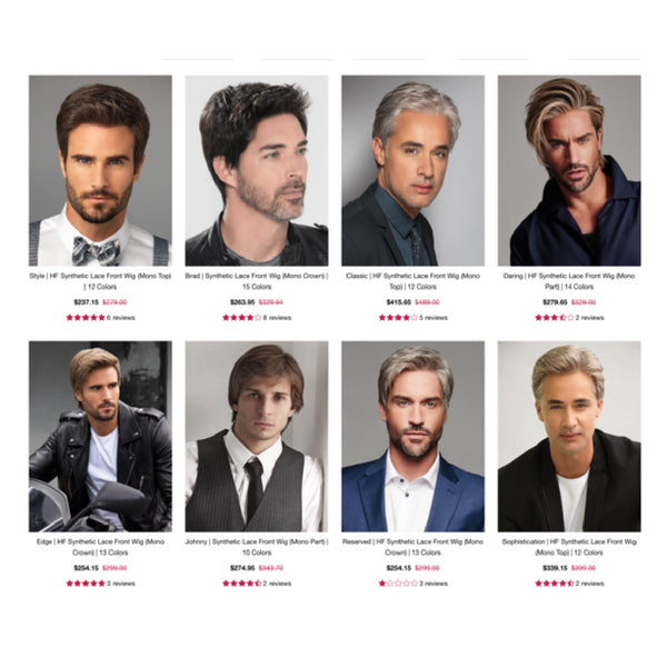 Hairstyles For Men With Thin Hair – Wigs.com 5133552282ad