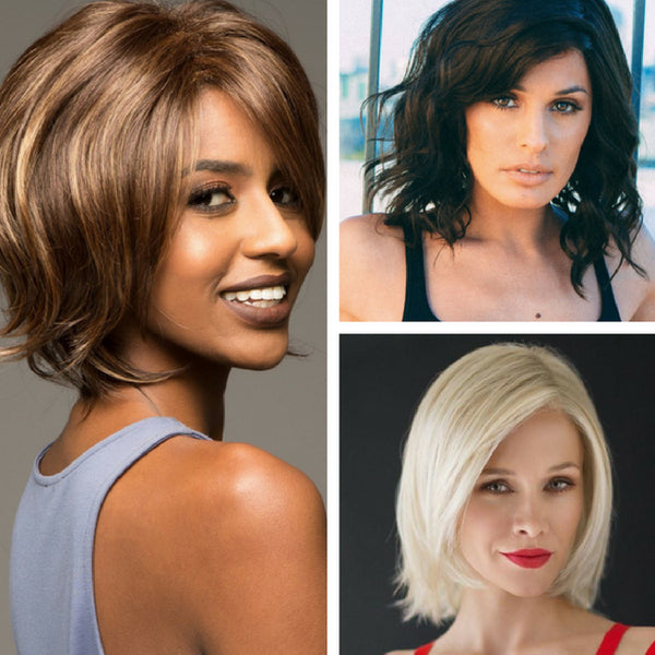 Mid Length Hairstyles For Thin Hair Wigs Com