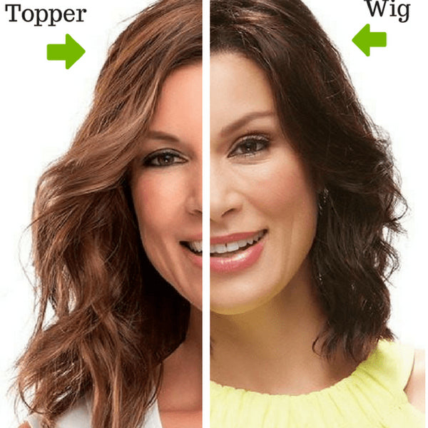 Difference Between Hair Toppers and Wigs