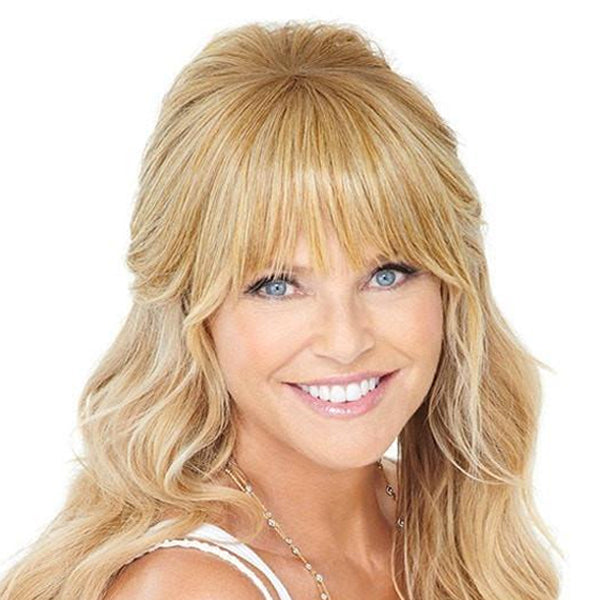 Natural Fringe Clip-In Bang by Christie Brinkley