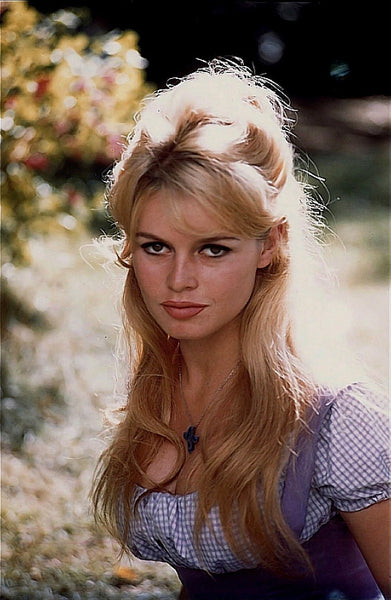 Brigitte Bardot Inspired Hair Style for Wigs